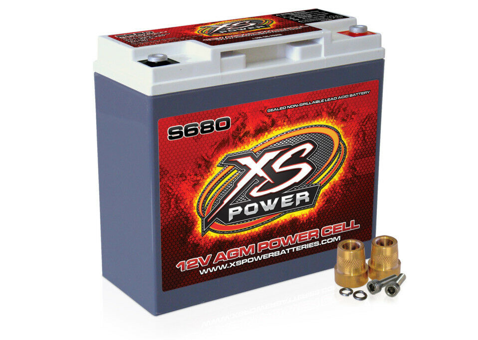 xs power s680 racing 12 volt 1000 amps 12v agm power cell. Black Bedroom Furniture Sets. Home Design Ideas
