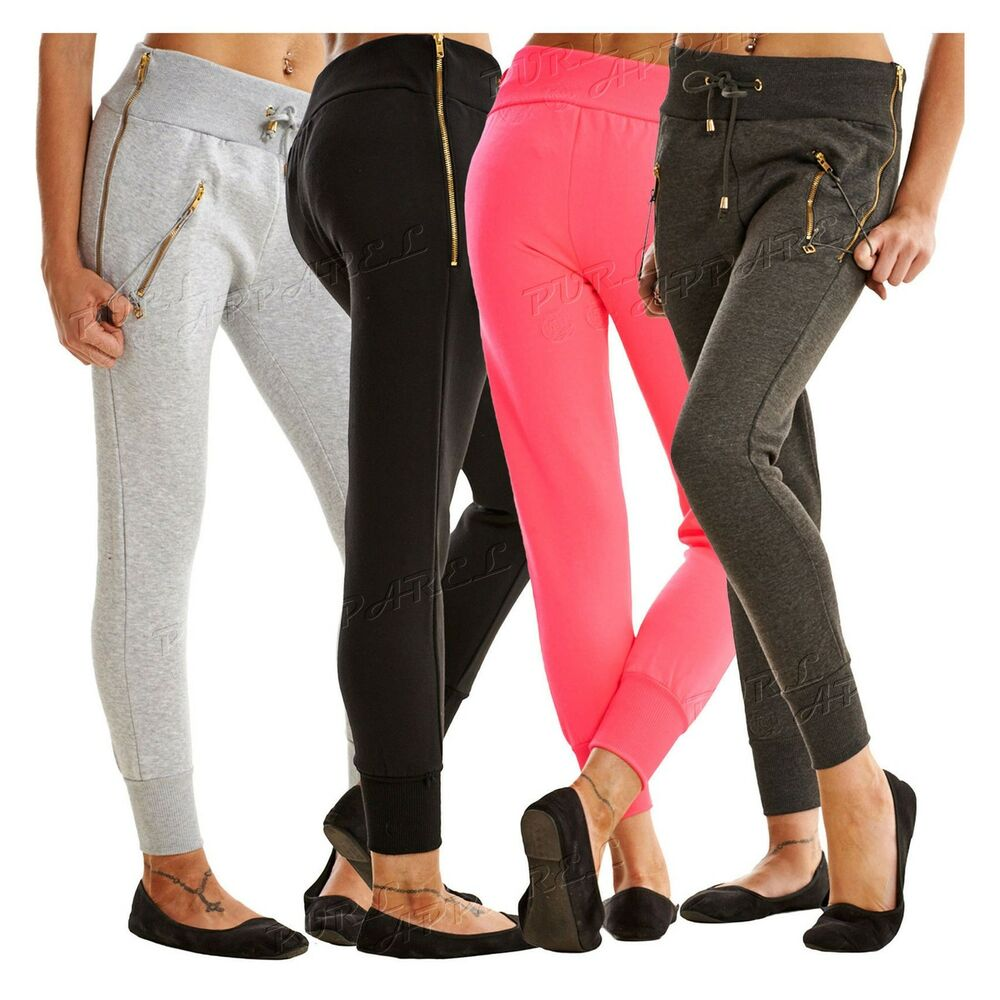 Update your collection with a wide range of refined, chic and relaxed women's pants for fashion-forward, modern styling. Choose from classic fit suit pants, fitted leggings, cropped slim fit capris, wide leg culottes to logo jogger sweatpants with bold prints, subtle patterns and streamlined solids.