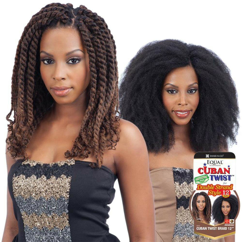 freetress equal cuban twist braid for double strand style. Black Bedroom Furniture Sets. Home Design Ideas