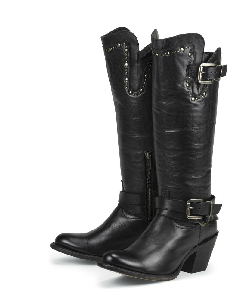 Leather Women's Boots: Find the latest styles of Shoes from free-desktop-stripper.ml Your Online Women's Shoes Store! overstock anniversary sale up to 70% off* + FREE SHIPPING* Shop Now > Overstock uses cookies to ensure you get the best experience on our site. Women's Black Leather Buckle and Lace-up Side-zipper Motorcycle Boots. 8 Reviews.