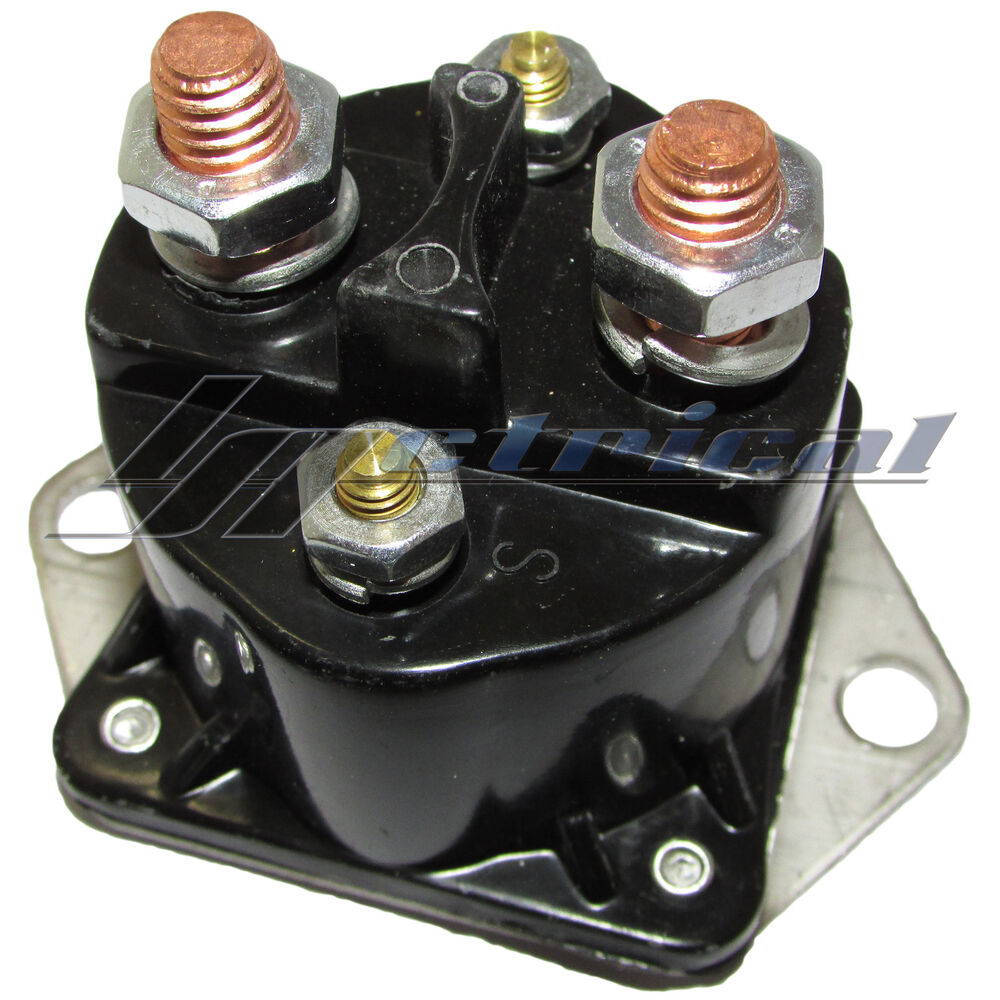 New Solenoid Relay Switch Fits Mercury Marine Mercruiser