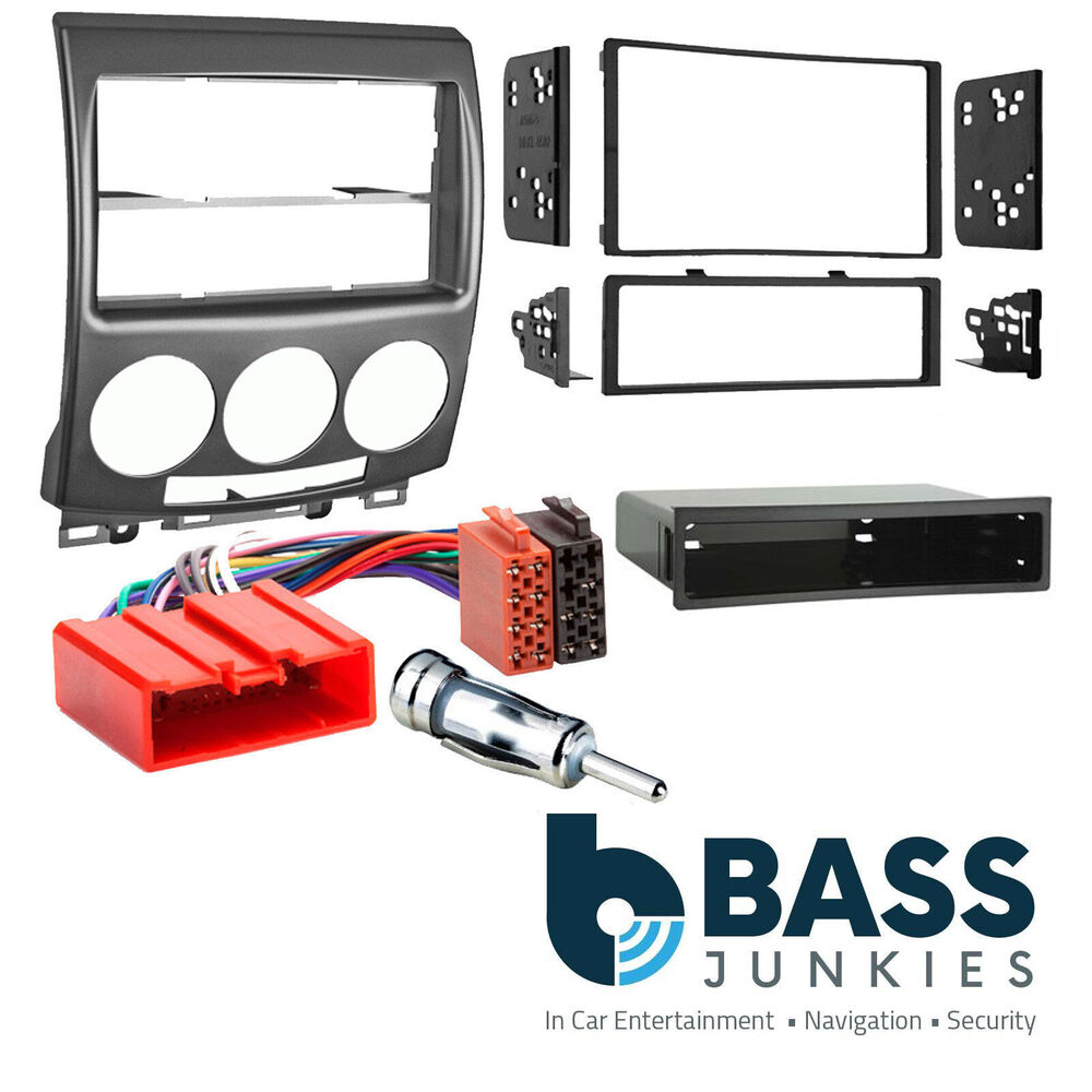 Mazda 5 2005 14 Car Stereo Double Single Din Fascia Panel Fitting Full Bose Cd Kit Wiring Harness Ebay Ct23mz06