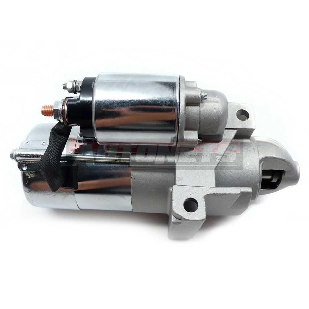 SBC BBC Chevy Satin Aluminum High Torque Mini Starter 168