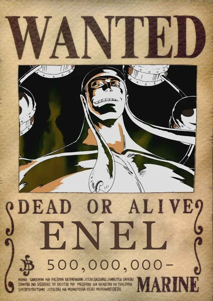 Sticker autocollant poster a4 manga one piece affiche - Affiche wanted one piece ...