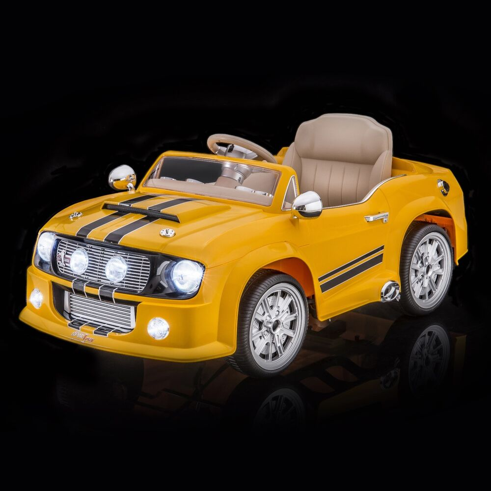SPORTrax Mustang Style GT5000 Kids Ride On Car Free Micro
