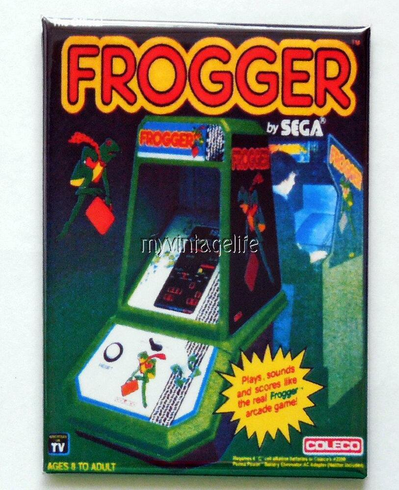 Vintage Frogger Table Top Arcade Game Coleco 2 Quot X 3
