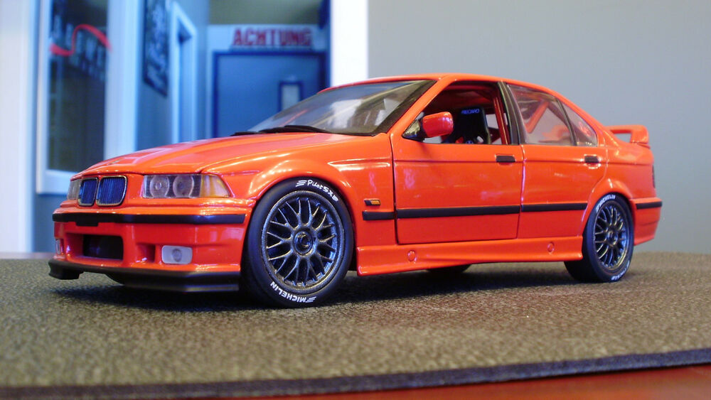 bmw e36 racing 320i 1 18 model car rare motorsport. Black Bedroom Furniture Sets. Home Design Ideas