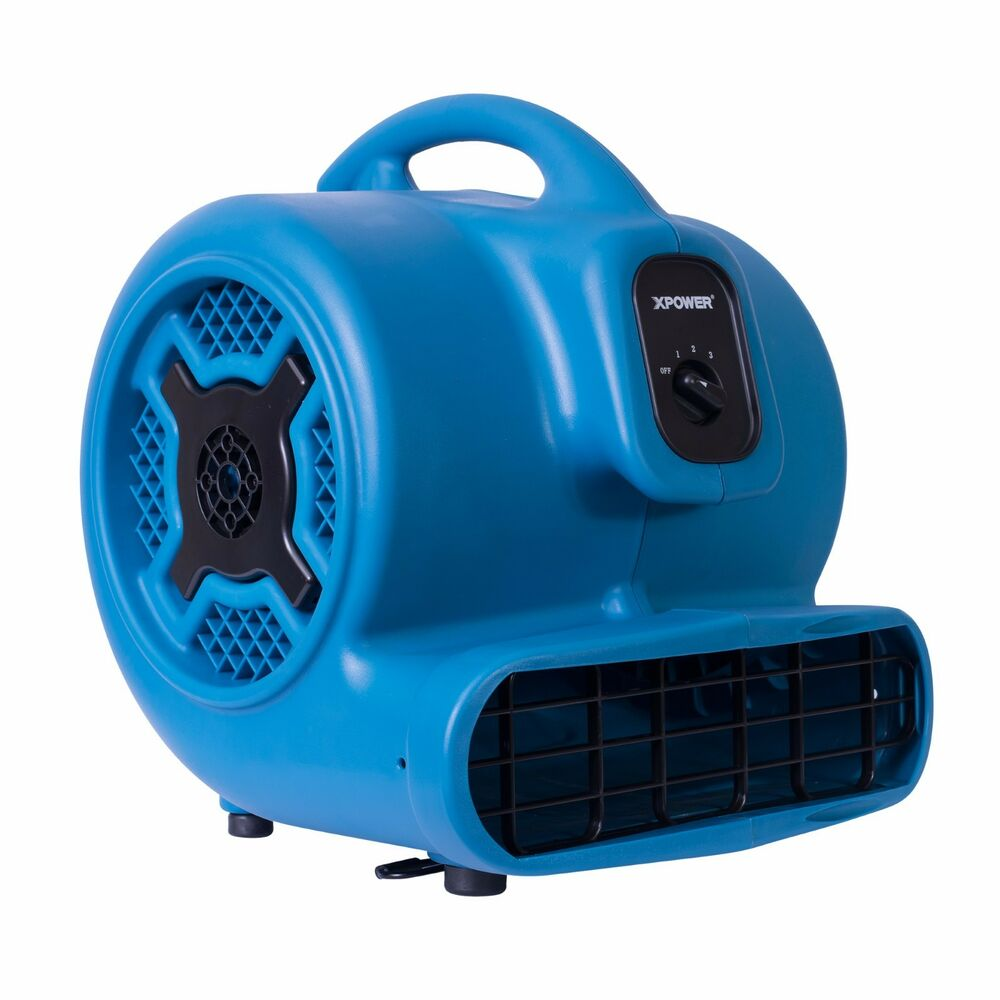 Xpower P 800 3 4 Hp Air Mover 3 Speed Commercial Carpet