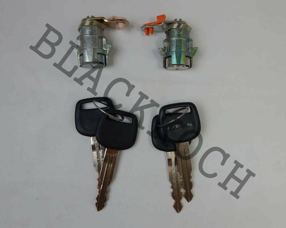 Pair Door Lock Cylinder Set W Key For Toyota Hilux