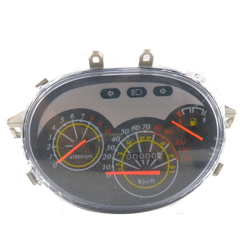 Scooter Speedometer Gauge Instrument Chinese Gy6 150cc Vip