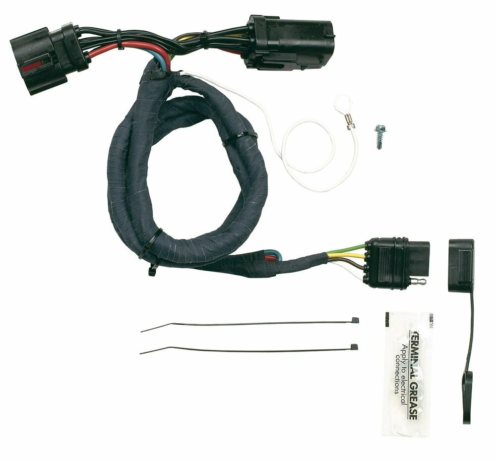 ford trailer plug wiring ford~ plug & play trailer wire connector kit ~ hopkins ...