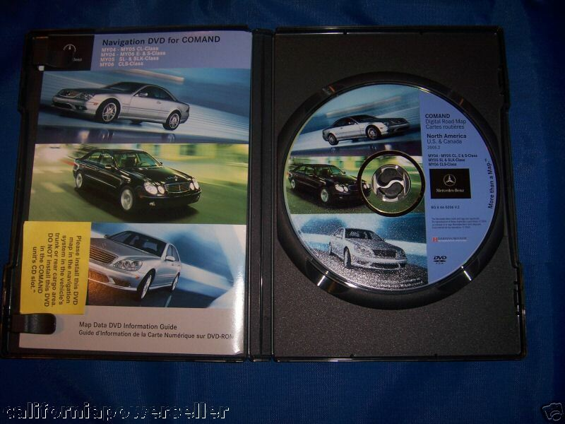 2004 2005 mercedes s350 s430 s500 s600 s65 s55 4matic gps for Mercedes benz navigation dvd