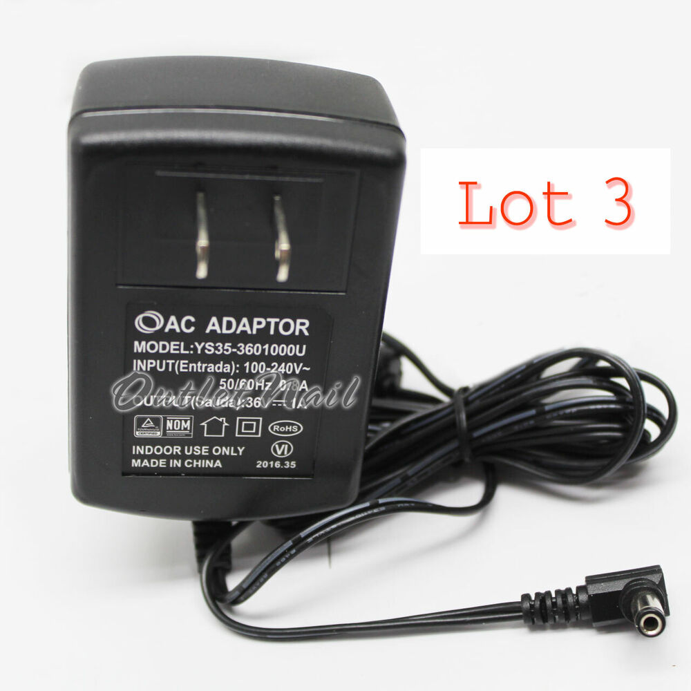 LOT 3 Adapter Replacement CND LED Light 36V 1A Lamp Dryer 100-240V ...