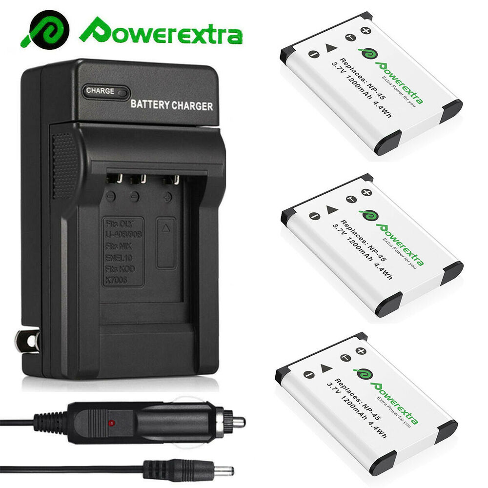 Np 45 Np 45a Battery Charger For Fujifilm Finepix Xp70