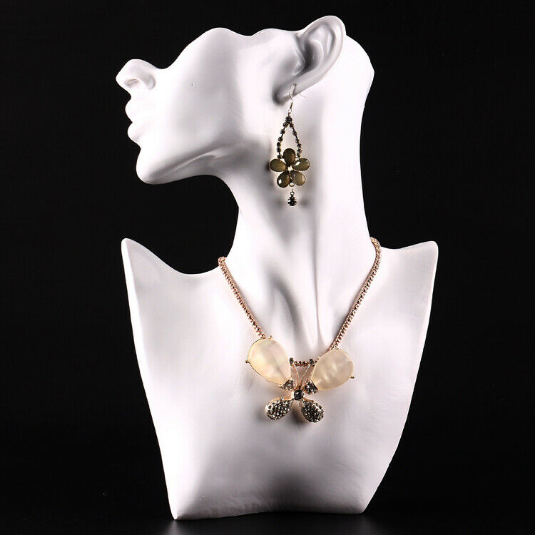 Female mannequin figure 11 bust necklace earring jewelry for Lady mannequin jewelry holder