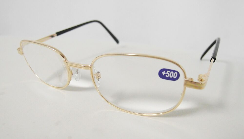 strong reading glasses magnifying optical spectacle 5 0
