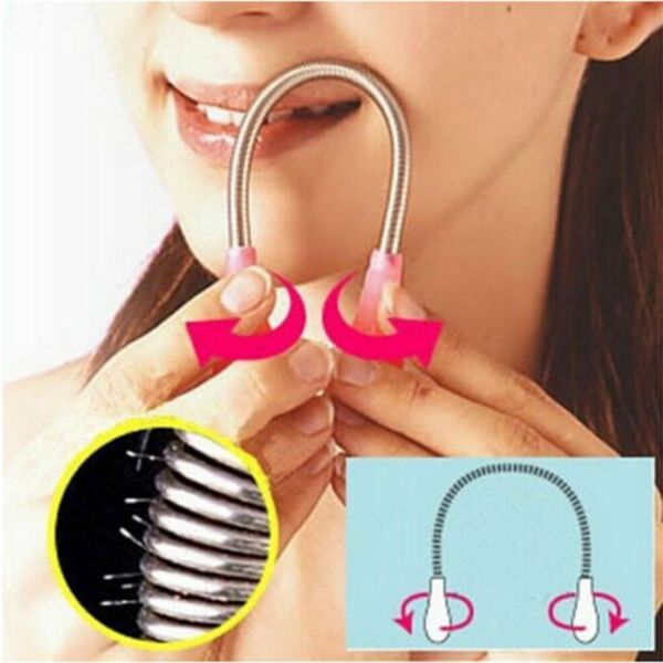 Face Facial Hair Spring Remover Stick Removal Threading Nice Tool Epilator