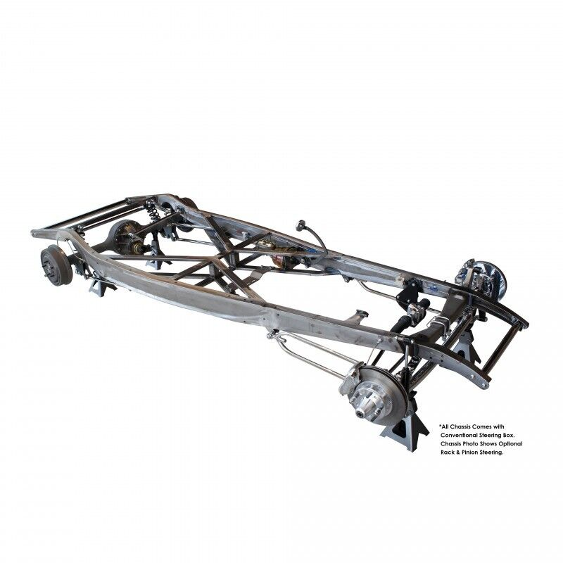 32 1932 ford auto trans frame    chassis plain steel suspension