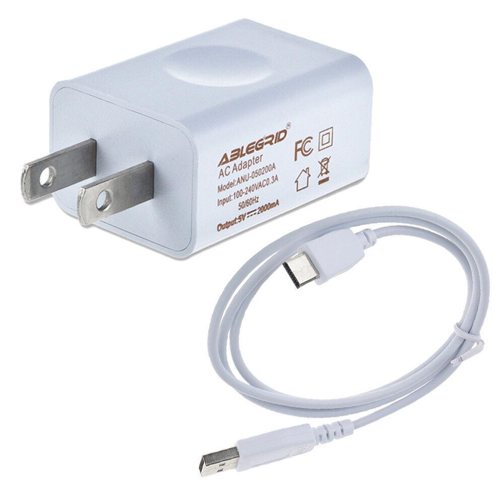 Premium 2a Power Charger W Cable For Fuhu Nabi Dreamtab