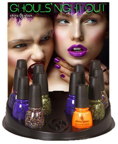 Walgreens Halloween Nail Polish: China Glaze Nail Polish Lacquer Ghouls Night Out 2015