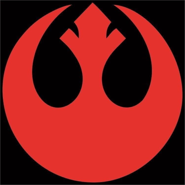 Star Wars Rebel Alliance Symbol Decal / Sticker - Choose ...