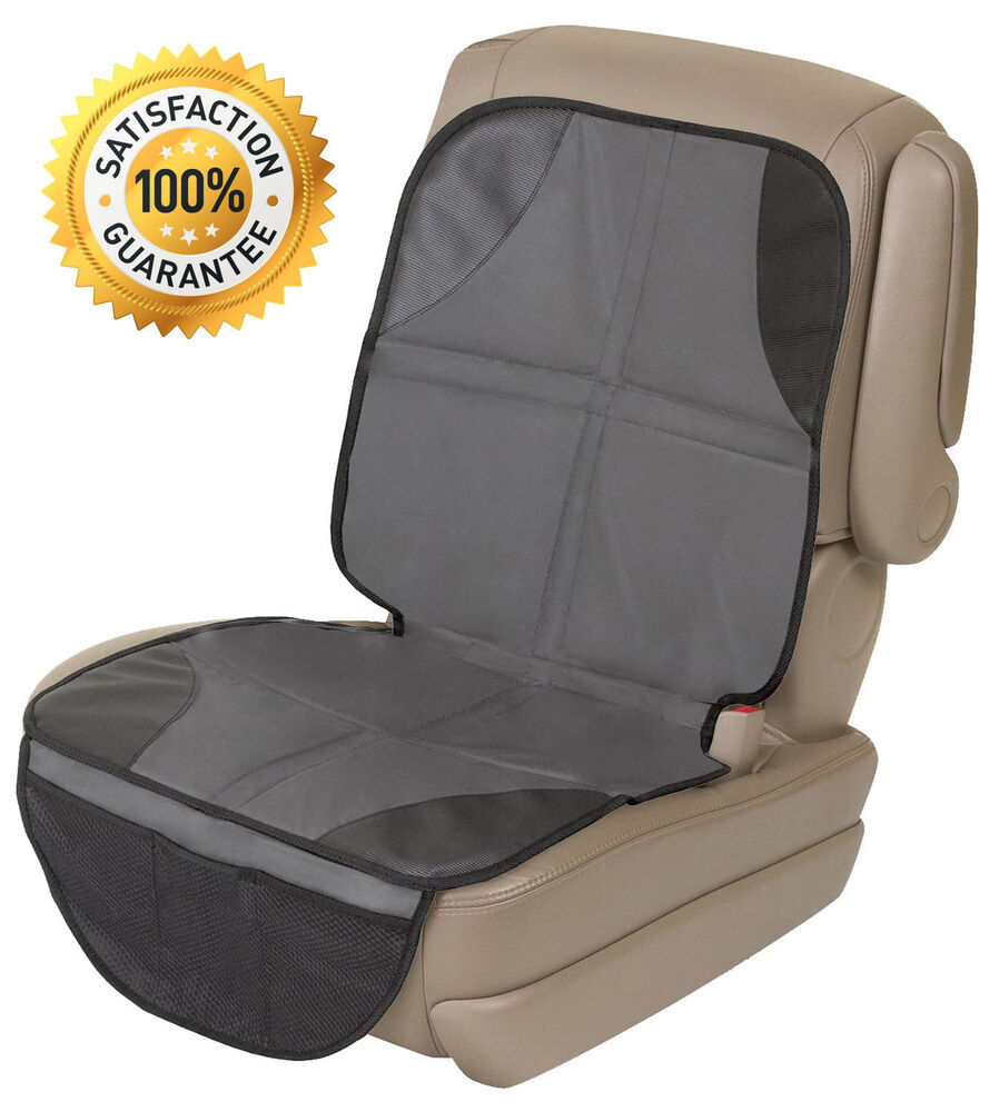 new infant baby easy clean non skid watherproof car seat protector mat duomat ebay. Black Bedroom Furniture Sets. Home Design Ideas