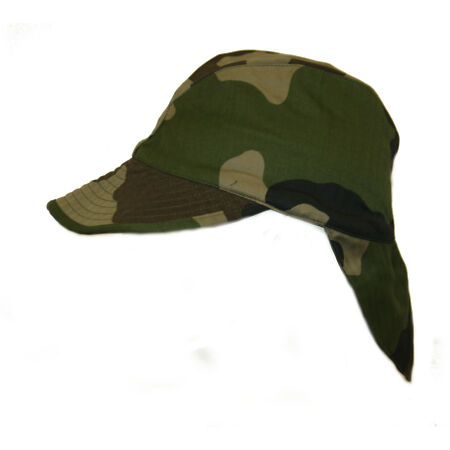 img-French Army / Foreign Legion Combat Warm Weather Hat CCE Camo peaked Cap