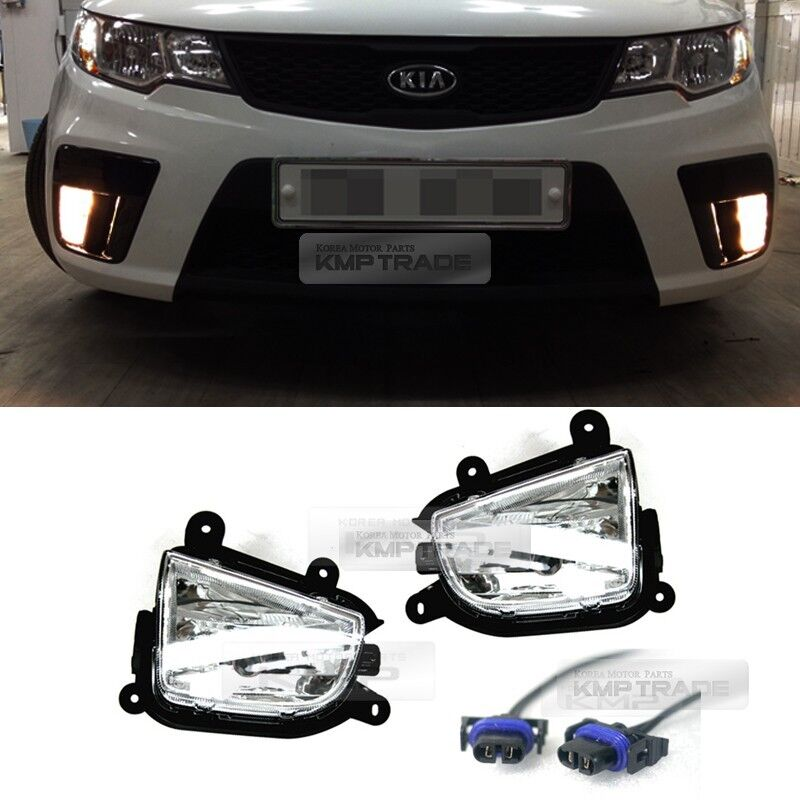 oem front bumper fog light lamp wiring for kia 2010. Black Bedroom Furniture Sets. Home Design Ideas