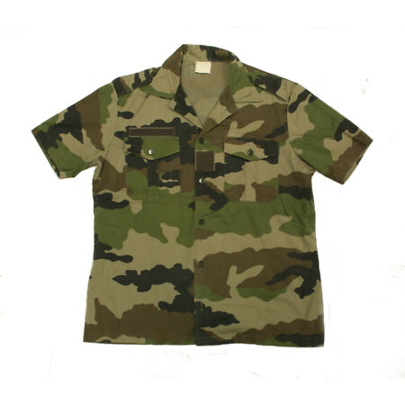 img-French Army & Foreign Legion F2 CCE Camouflage Short Sleeve Shirt New or Graded