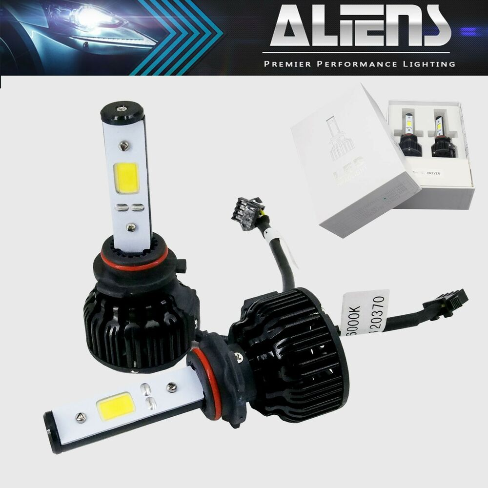 Cob Led Xenon Hid Headlight Kit 9006 9005 H1 H3 H4 H7