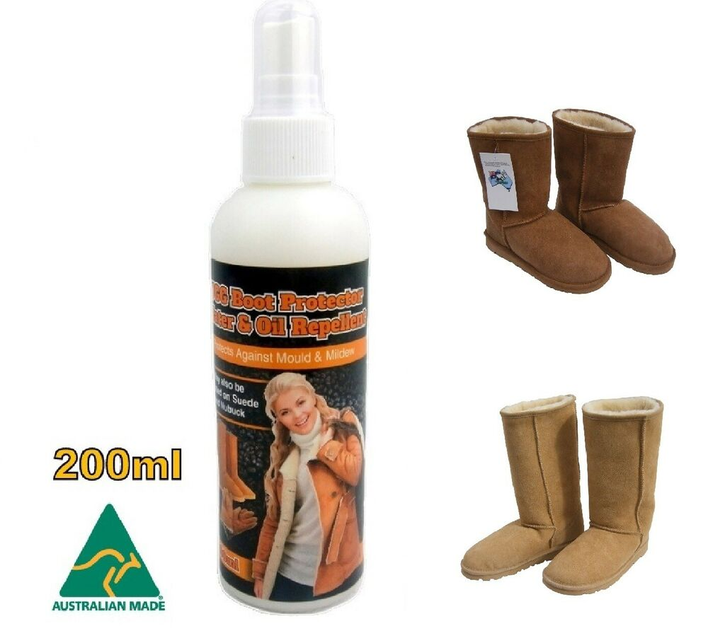 ugg boot sheepskin protector water stain waterproof