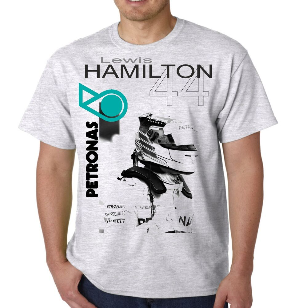 lewis hamilton t shirt formula 1 racing top mens unisex 44 top s m l xl xxl ebay. Black Bedroom Furniture Sets. Home Design Ideas