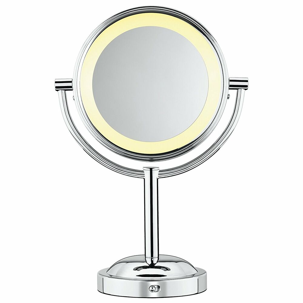 Conair Classique Double Sided Lighted Makeup Mirror With