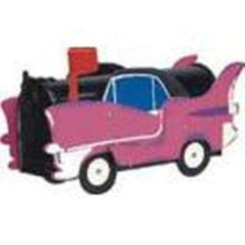 Pink Cadillac Mailbox 1038 Unique Hand Made Novelty Mailbox Holiday