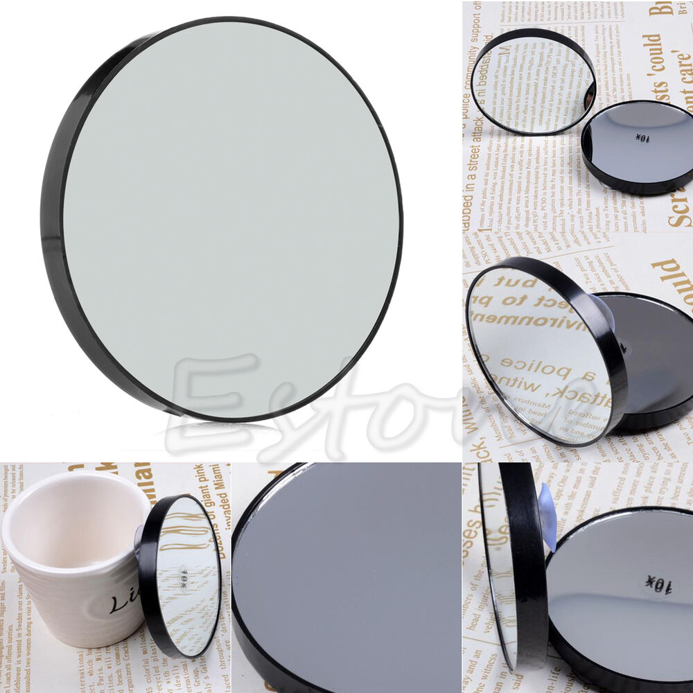 Makeup 10x magnifying glass cosmetics mirror new high for Mirror quality