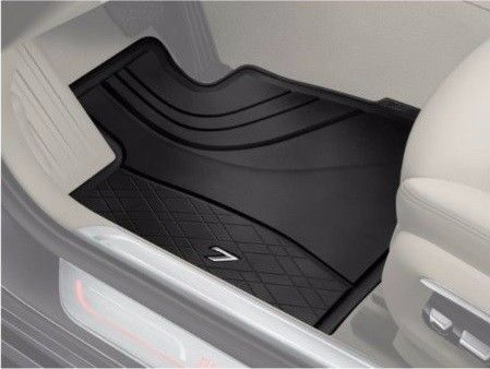 Genuine Bmw All Weather Rubber Floor Mats Front Rear G12 7