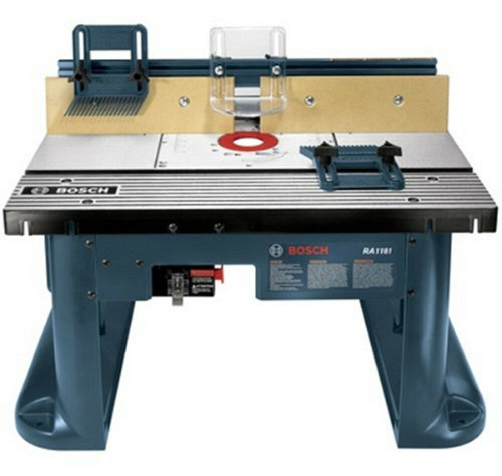Bosch Ra1181 Aluminum Mounting Plate Benchtop Router Table