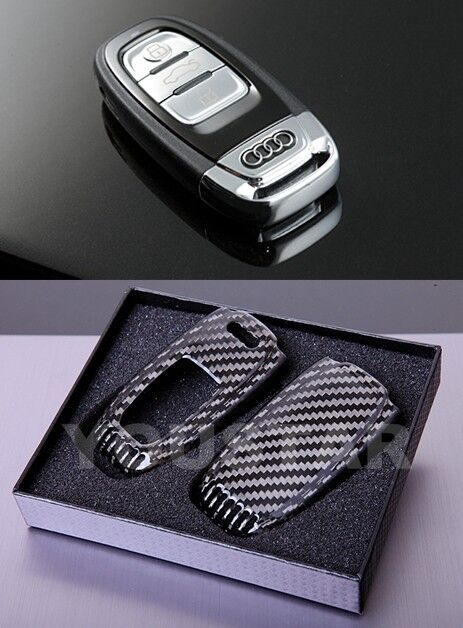 US STOCK GENUINE CARBON Remote Key Cover for AUDI R8 A8 Q5 Q7 A5 S5 S6 A7 TT A3   eBay