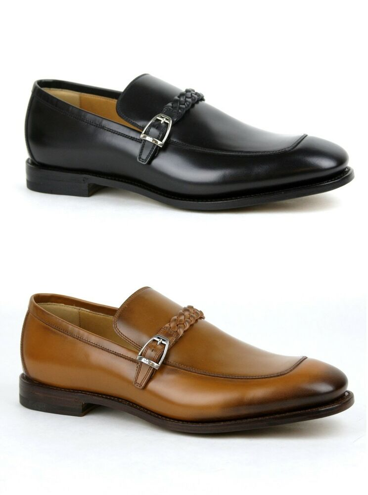 $840 New Gucci Mens Leather Loafer Dress Shoes w/Braided ...