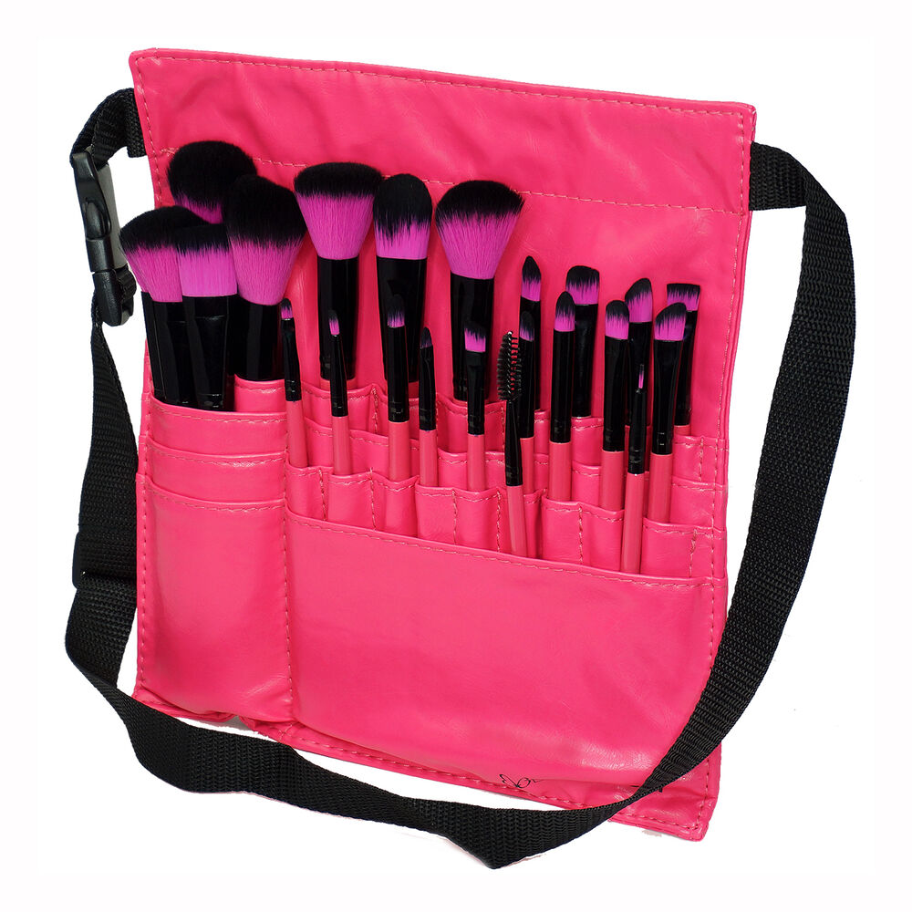 Makeup brush belt