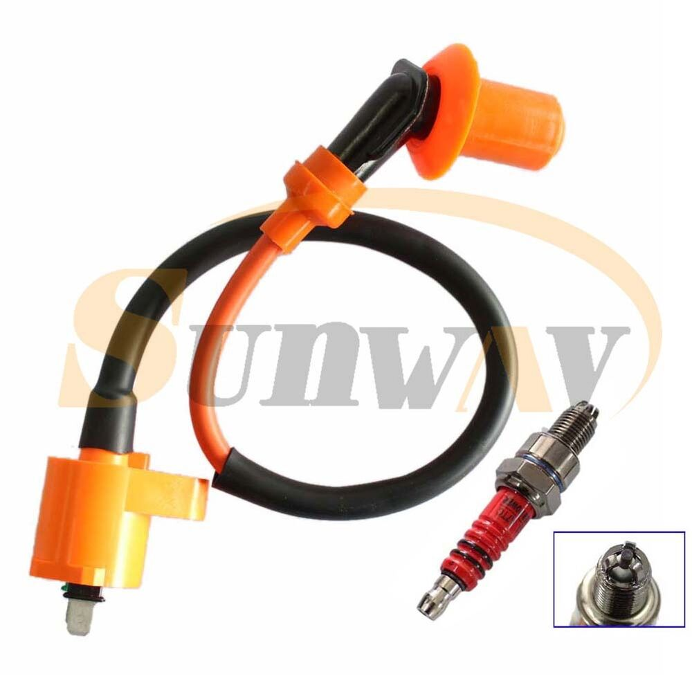 pit dirt bike performance ht ignition coil spark plug for