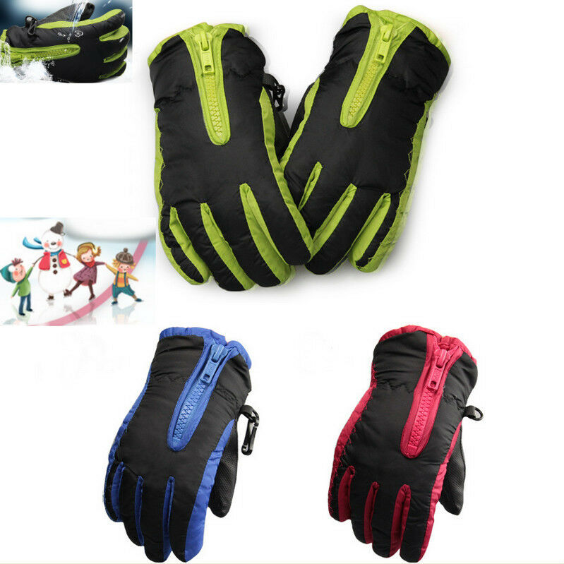 Kids Boys Girls Windproof Warm Riding Outdoor Snow Winter ...