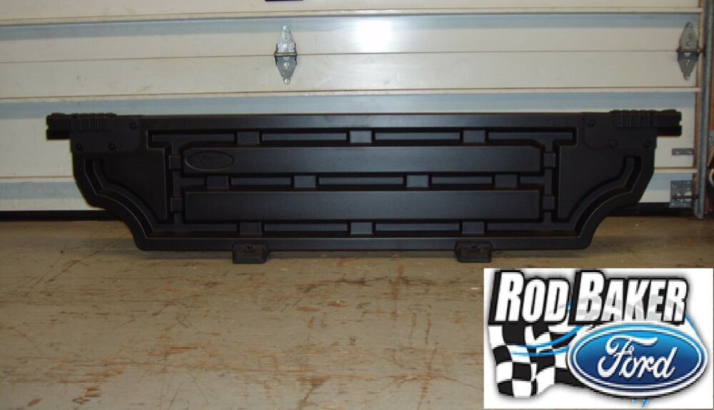 Ford F150 Tonneau Cover >> 15 thru 18 Ford F-150 OEM Genuine Ford Parts Black Bed ...