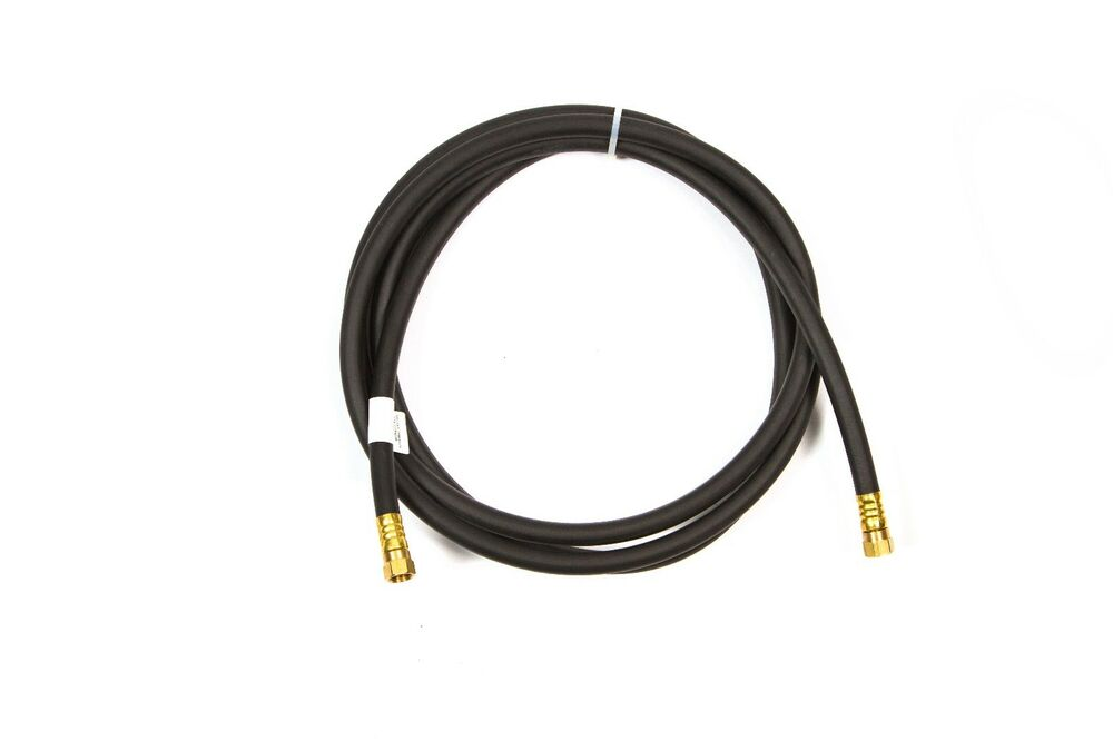 Propane gas line ft hose quot brass flared ends psi