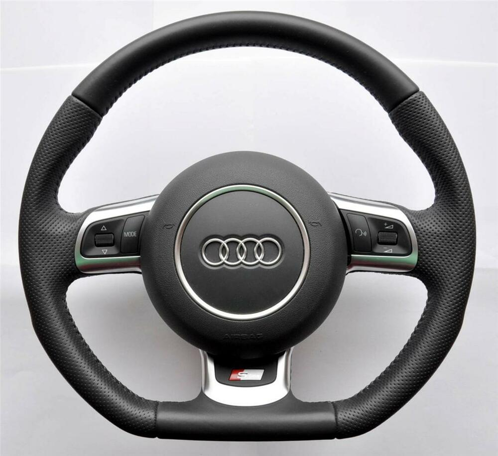 Audi S Line A3 A4 A5 A6 Tt Q5 Q7 Flat Bottom Multifunction