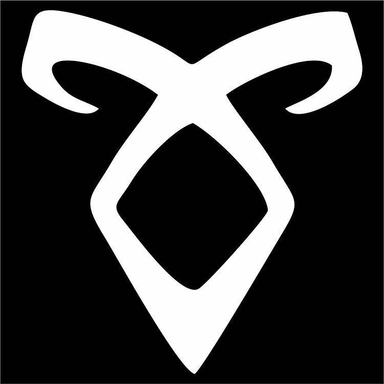 angelic power rune decal sticker choose size amp color