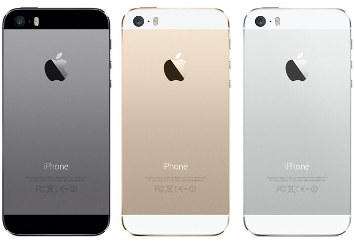 apple iphone 5s 32gb unlocked smartphone in gold silver. Black Bedroom Furniture Sets. Home Design Ideas