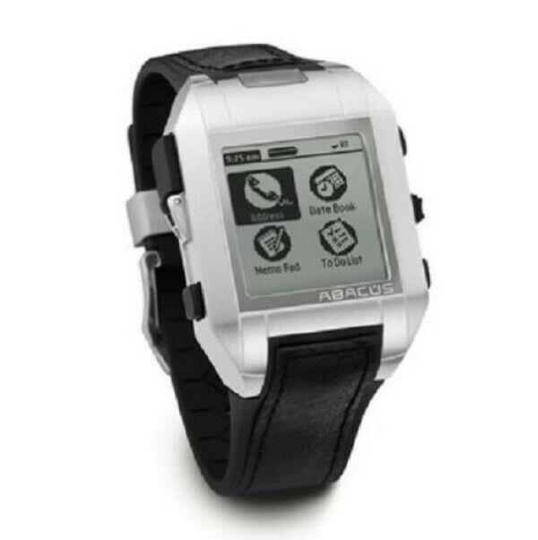 Fossil Abacus AU5010 Wrist PDA with Palm OS (Collectible ...