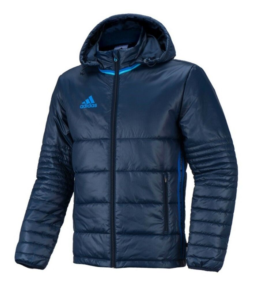Adidas Men Condivo 16 Jacket Padded Down Winter Navy Sports Soccer Team AB3145 | EBay