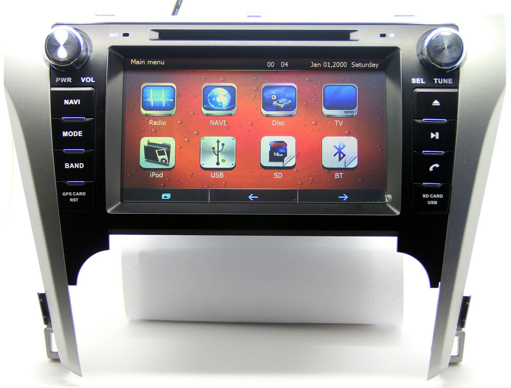 "8"" Touch Screen Car Radio DVD Player GPS Navigation For"